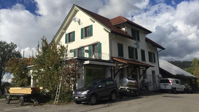 Die Sennerei Bachtel in Hinwil.