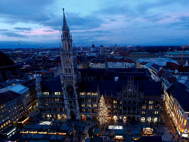 Münchens Neues Rathaus.