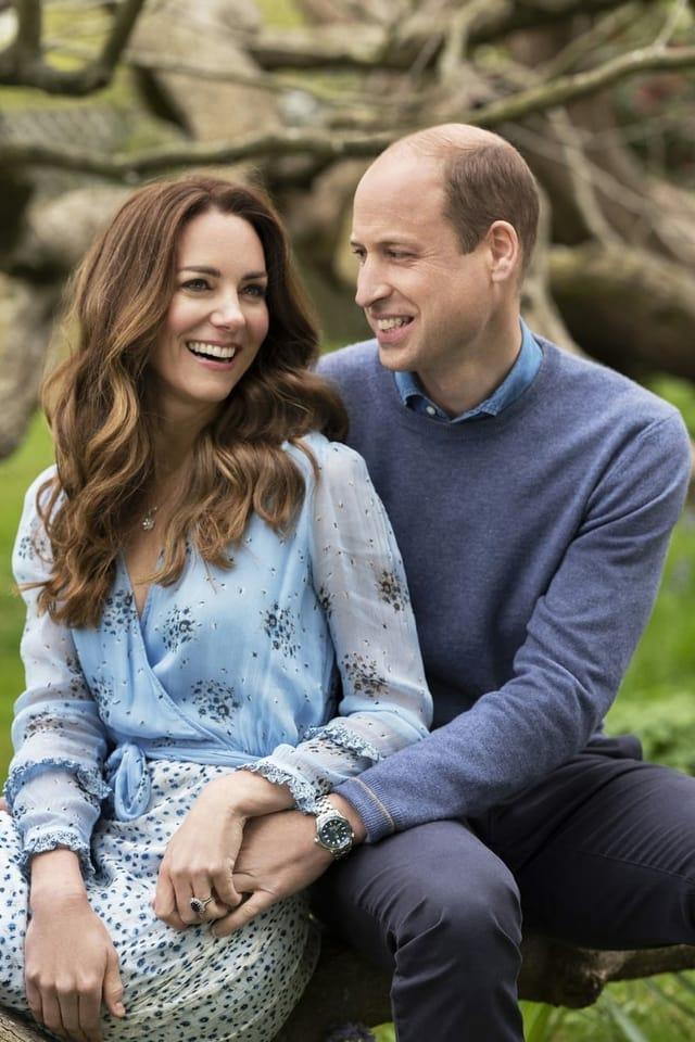 Wie frisch verliebt, William und Kate.