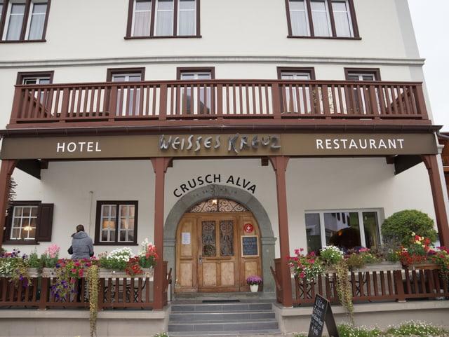 Restaurant von Aussen.