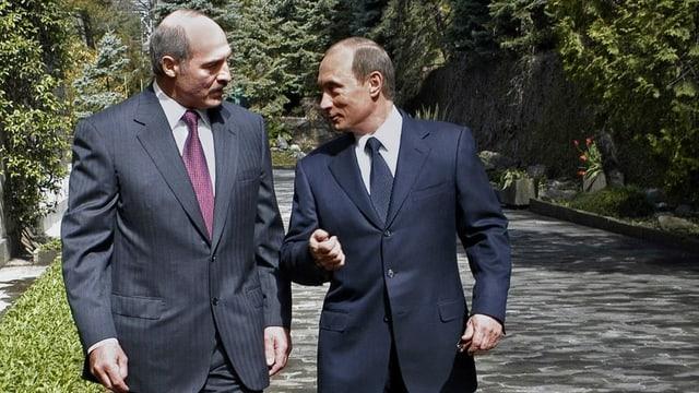Putin und Lukaschenko.