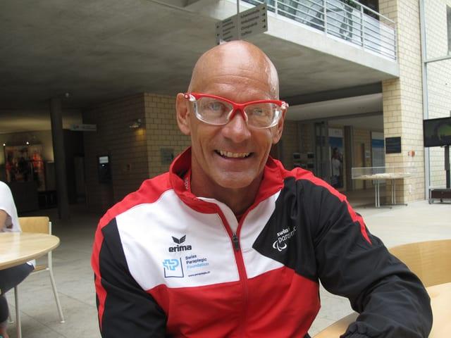 Heinz Frei, erfolgreicher Behindertensportler aus der Zentralschweiz.
