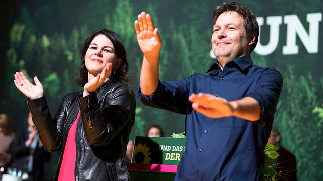 Neues Führungsduo der deutschen Grünen: Annalena Baerbock und Robert Habeck