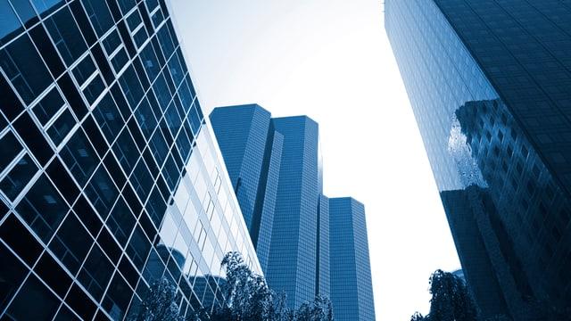 Bürofassaden.