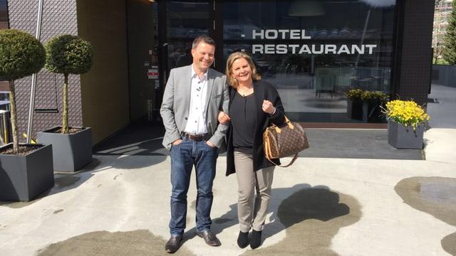 Video «Restaurant Fischer's Fritz in Zürich - Tag 1» abspielen