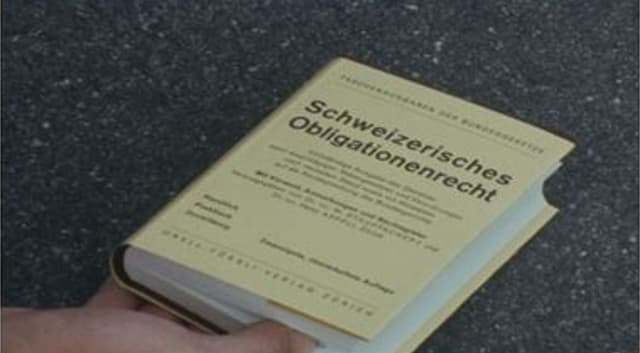 Il dretg d'obligaziuns svizzer (DO)