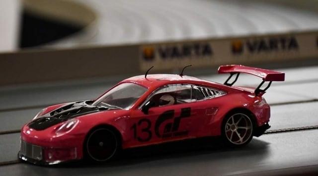 Porsche rosa