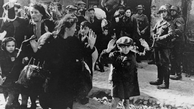 Jüdischer Junge im Gehtto von Warschau