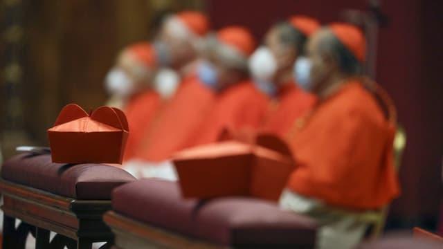 Kardinäle im Vatikan in Rom