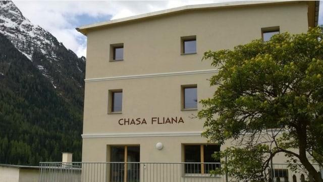 Chasa Fliana, fatschada