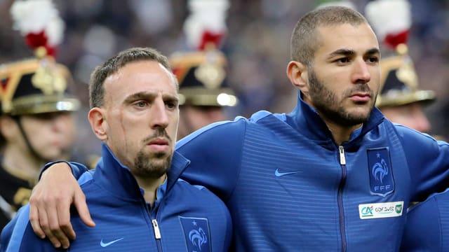Die französischen Fussball-Stars kommen um eine Verurteilung herum.