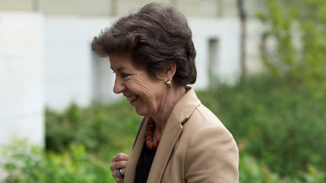 CVP-Nationalrätin Kathy Riklin