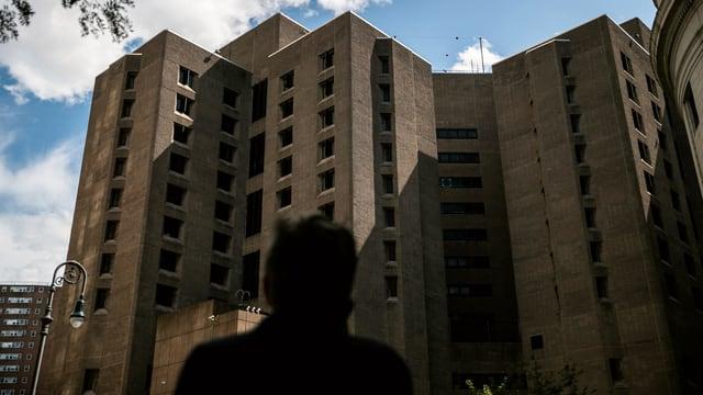 Blick auf das Gefängnis in Manhattan.