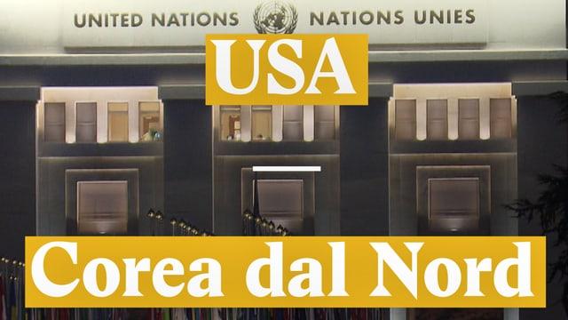 Laschar ir video «Conflict USA - Corea dal Nord. Cun in arbiter svizzer?»