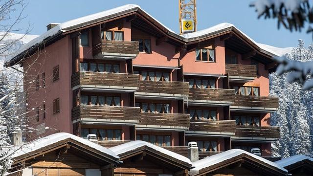 Das Hotel Rustico.