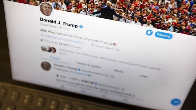 Tweet von Donald Trump.