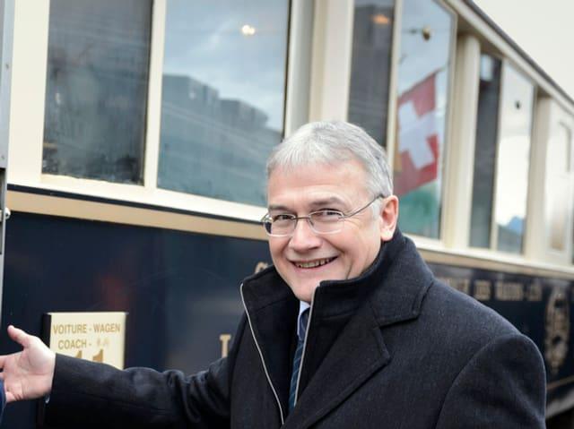 Claude Hêche ist ein profunder Kenner des öffentlichen Verkehrs