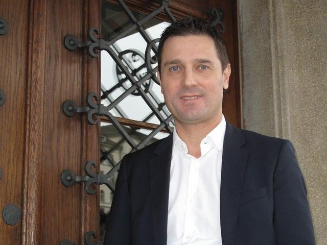 Der Schwyzer SVP-Regierungsrat André Rüegsegger.