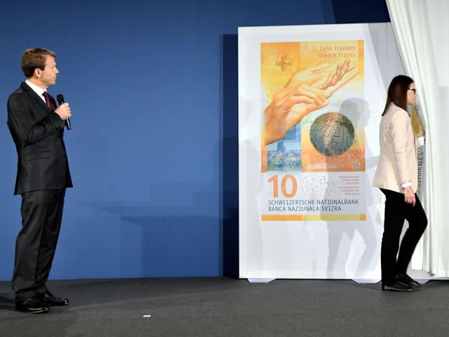 Neue Banknote.