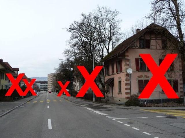 Strassenzug in Lyss