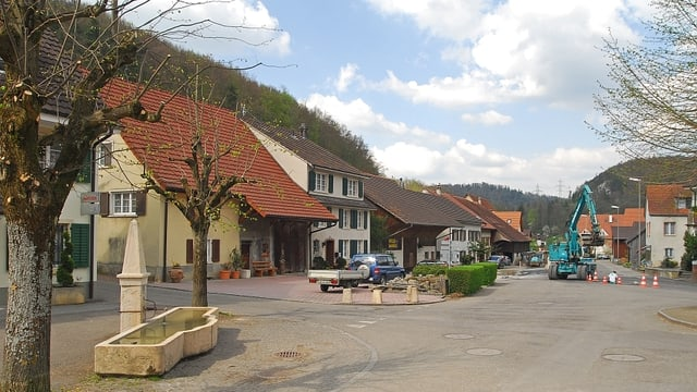 Dorfplatz von Meltingen