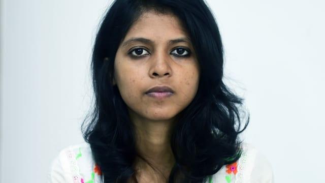 Ein Porträt der jungen Bangladescherin Shammi Haque.