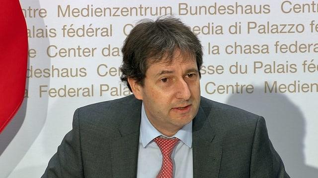 Bundesratssprecher André Simonazzi