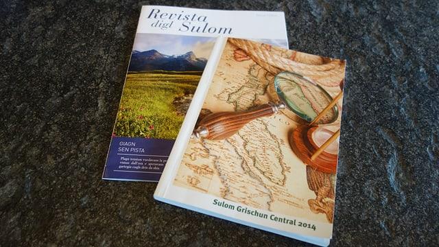 La «Revista digl Sulom» ed il »Sulom Grischun Central».