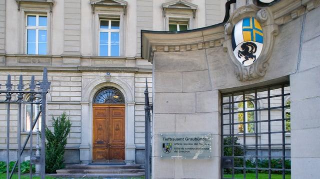Gebäude des Tiefbauamtes Graubünden