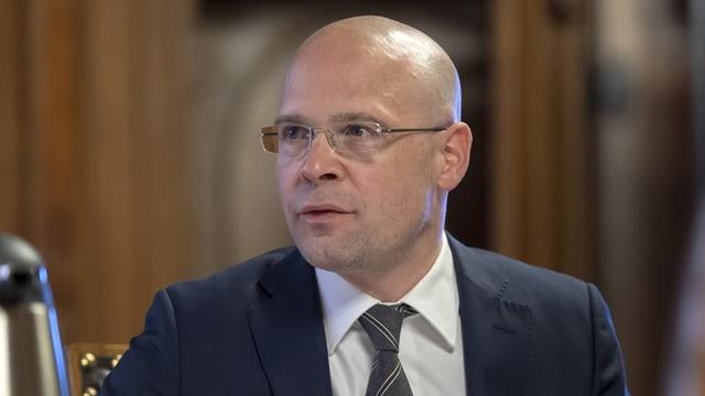Basler Polizeidirektor Baschi Dürr