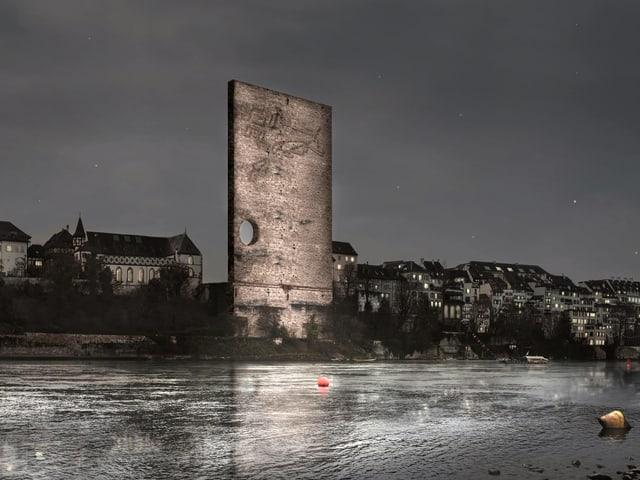 Es bleibt ein unübersehbares Loch, wenn das Münster verschwindet.