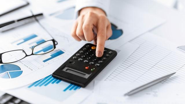 Taschenrechner, Finanztabellen