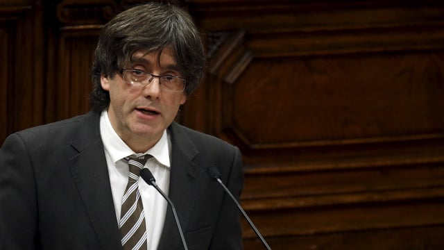 Il president Carles Piugdemont.