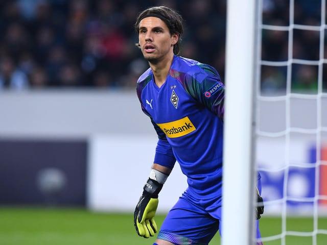 Yann Sommer im Dress von Mönchengladbach