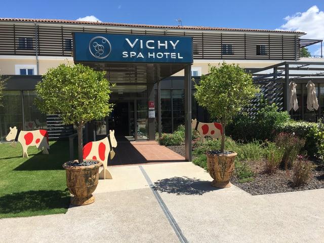 Das Vichy Spa Hotel.