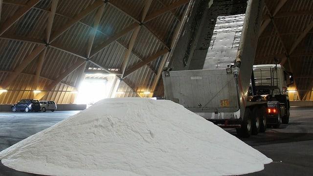 Salzhaufen
