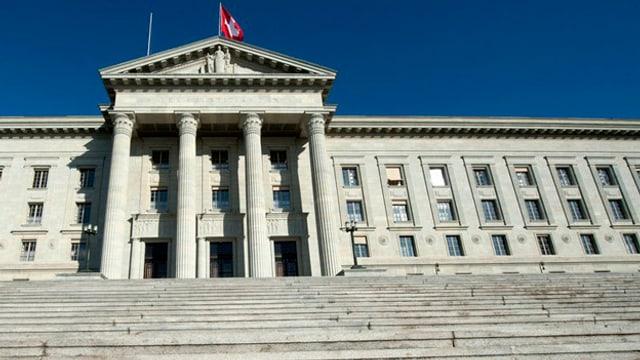Bundesgerichtsgebäude in Lausanne.