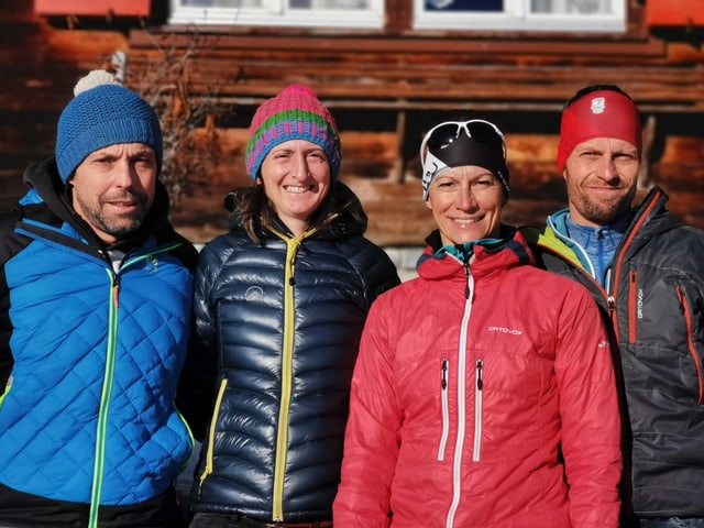 David Berther, Toja Maissen, Anja Kittlich ed Armin Berther.