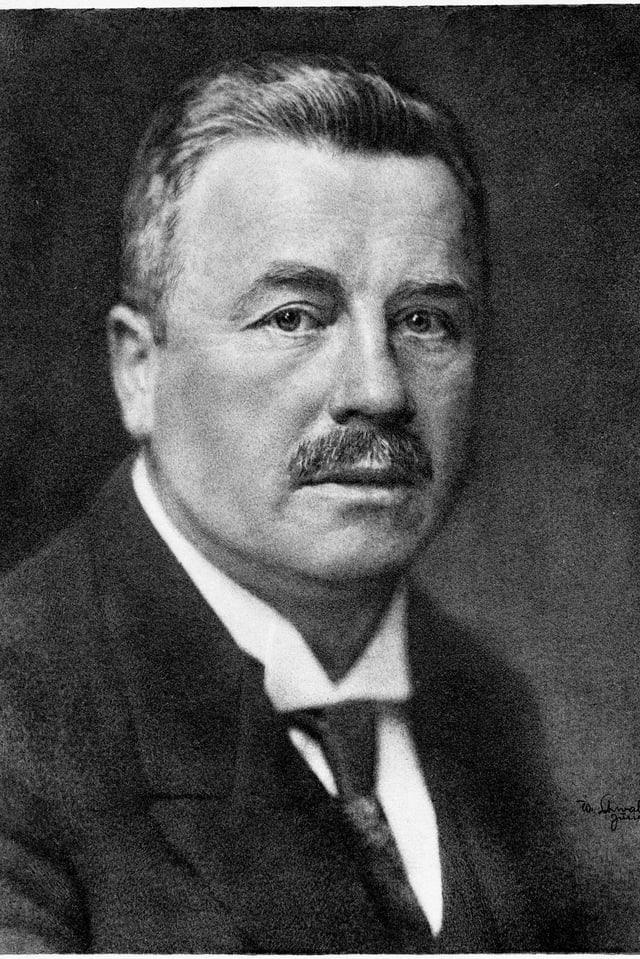 Adolf Gygi gründete am 15. Februar 1912 die Portlandcement-Fabrik im aargauischen Holderbank.