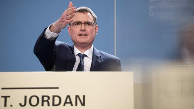 Thomas Jordan, il president da la Banca naziunala svizra.