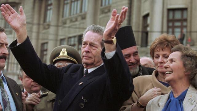 Michael I. war zwei Mal Staatsoberhaupt von Rumänien. KEYSTONE