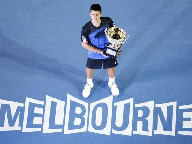 Djokovic in Melbourne 2008