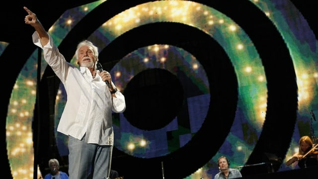 Kenny Rogers, il 2008 a Nashville