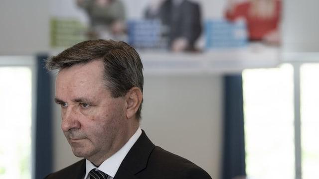 Der Präsident der nationalrätlichen Sicherheitskommission, Werner Salzmann.