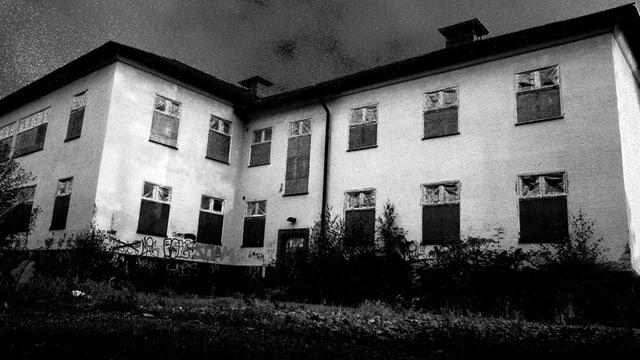 Die ehemalige Klinik Beckomberga, aufgenommen 2009.