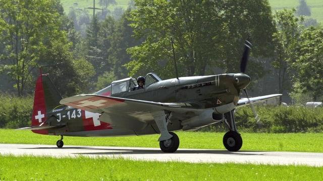 Die Morane D-3801.