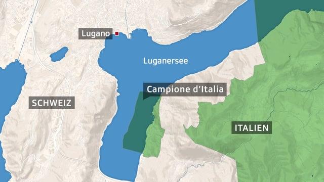 Italienische Exklave Im Tessin Tessiner Regierungsrat Will