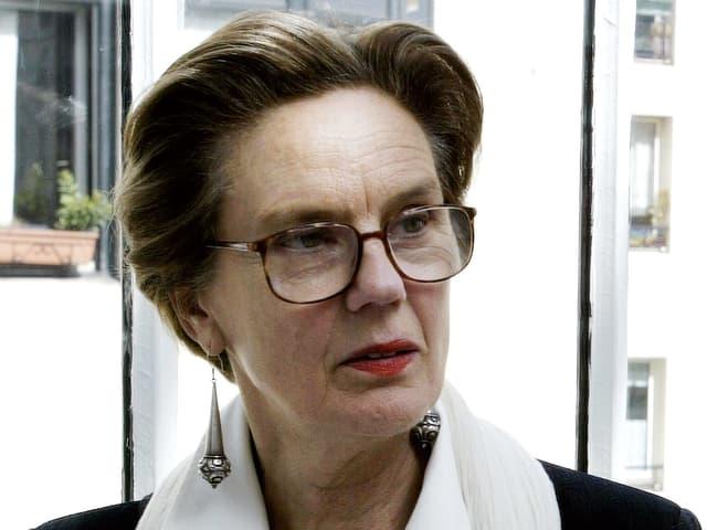 Martine Franck 2003 in Paris.