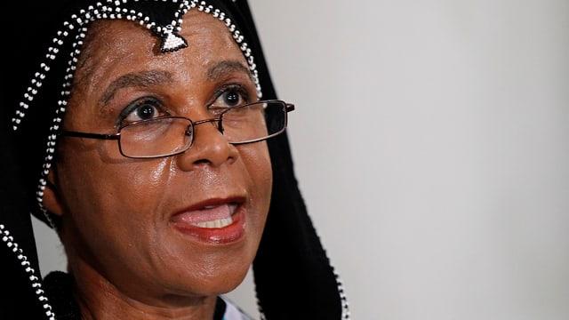 Mamphela Ramphele, Ärztin und Geschäftsfrau in Südafrika.