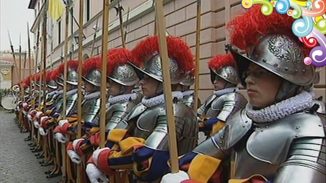 Guardia svizra dal Papa